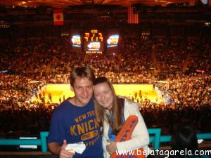 Jogo dos Knicks x Miami Heat no Madison Square Garden