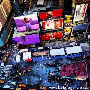 Vista do quarto do DoubleTree Suites by Hilton - Times Square