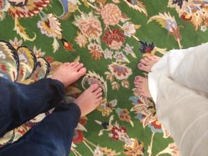 Tapete persa feito a mão