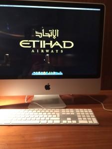Computador na área executiva