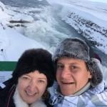 Selfie na Gullfoss