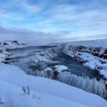 Belíssima Gullfoss ou Golden Falls