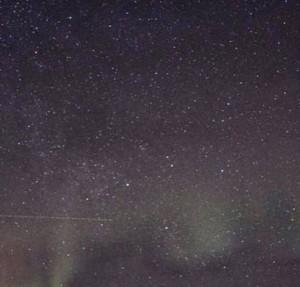 Um pouquinho da aurora boreal
