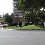 Praça homenageando as corridas