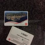 Ticket de ônibus