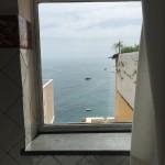 Vista da janela do banheiro