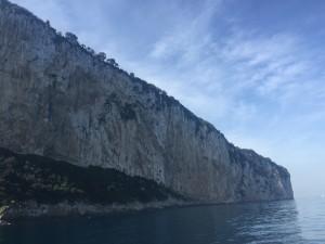 Vistas do Passeio ao reor da Ilha de Capri