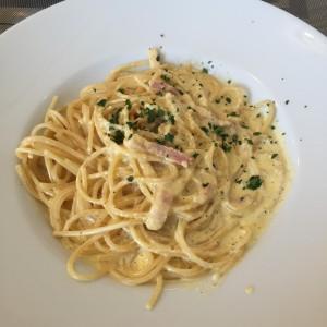 Meu tradicional Spaghetti alla Carbonara