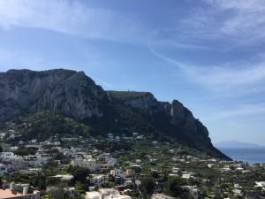Vista da Ilha a caminho de Anacapri