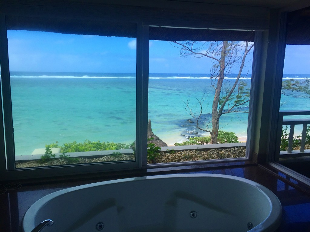 Vista da banheira